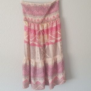 American Eagle Strapless Summer Dress size Small
